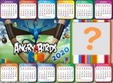 Calendário 2020 Horizontal Angry Birds
