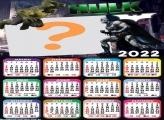 Calendário 2022 Foto Online Hulk vs Batman