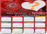 Calendário 2020 Coração Corinthiano Moldura