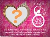 Mensagem de Coração para o Dia da Mulher