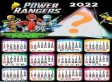 Calendário 2022 Morfagem Feroz Power Rangers