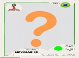 Figurinha Neymar Copa do Mundo