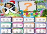 Calendário 2021 Vaneyse de Natal para Montar Foto