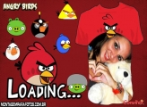 Moldura Angry Birds