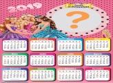 Calendário 2019 Escola de Princesas