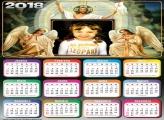 Calendário 2018 Anjos e Jesus Cristo