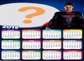 Calendário 2019 Super Homem Filme