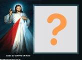 Jesus Eu Confio e Vós FotoMoldura