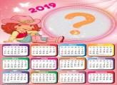 Calendário 2019 da Moranguinho