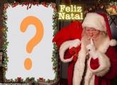 Papai Noel Existe Feliz Natal Editar Fotos Montagem
