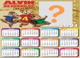 Calendário 2021 Alvin e os Esquilos
