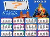 Calendário 2022 Nossa Senhora da Abadia Editar Grátis