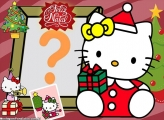 Hello Kitty Feliz Natal Fazer Montagem