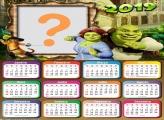 Calendário 2019 Shrek
