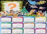 Calendário 2021 Disney de Feliz Natal