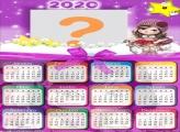 Calendário 2020 Jolie Montar Foto Online