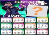Calendário 2021 Gusttavo Lima Montagem de Fotos On Line