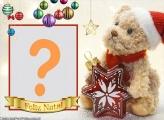 Moldura Feliz Natal para Crianças