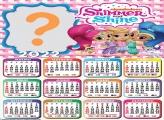 Calendário 2022 Shimmer e Shine Editar Montagem