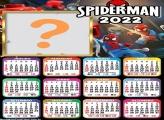 Calendário 2022 Lego Homem Aranha Colagem