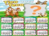 Calendário 2022 Tico e Teco Fazer Grátis