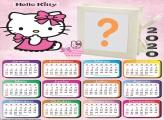 Moldura Online Calendário 2020 Hello Kitty