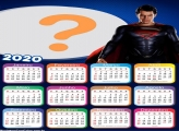 Moldura de Foto Calendário 2020 Super Homem Filme