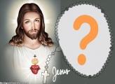 Ao Lado de Jesus Cristo Moldura