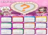 Calendário 2020 Jolie Coração de Amor
