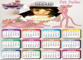 Calendário 2018 da Pantera Cor de Rosa