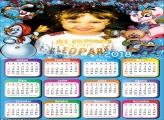 Natal Infantil Foto Calendário 2018