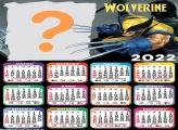 Calendário 2022 Wolverine Moldura de Foto