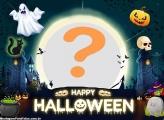 Colagem de Foto Happy Halloween