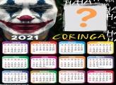 Calendário 2021 Coringa
