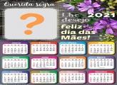 Montar Foto Online Calendário 2021 Sogra Dia das Mães