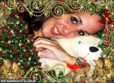 Moldura Desejos de Feliz natal