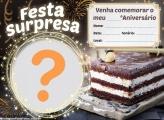 Convite Aniversário Surpresa