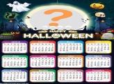 Calendário 2020 de Halloween