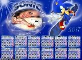 Calendário 2017 Sonic