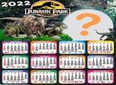 Calendário 2022 Moldura Online Jurassic Park