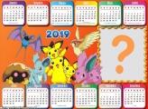 Calendário 2019 Pokémon