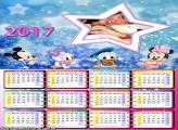Calendário 2017 Estrela Disney Baby