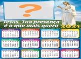 Calendário 2021 Presença de Jesus Foto Montagem