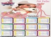 Calendário 2017 da Pantera Cor de Rosa