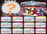 Calendário 2022 Power Rangers Ninja Steel Online