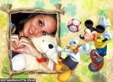 Foot Ball do Mickey e Donald