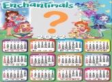 Calendário 2022 Enchantimals Montagem Infantil