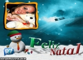 Moldura Feliz Natal R7