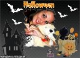 Moldura Doces Halloween