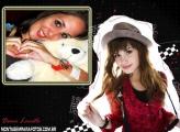 Moldura Demi Lovato Foto